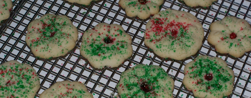 Christmas Baking Whipped Shortbread Cookies For The Love Of My Home