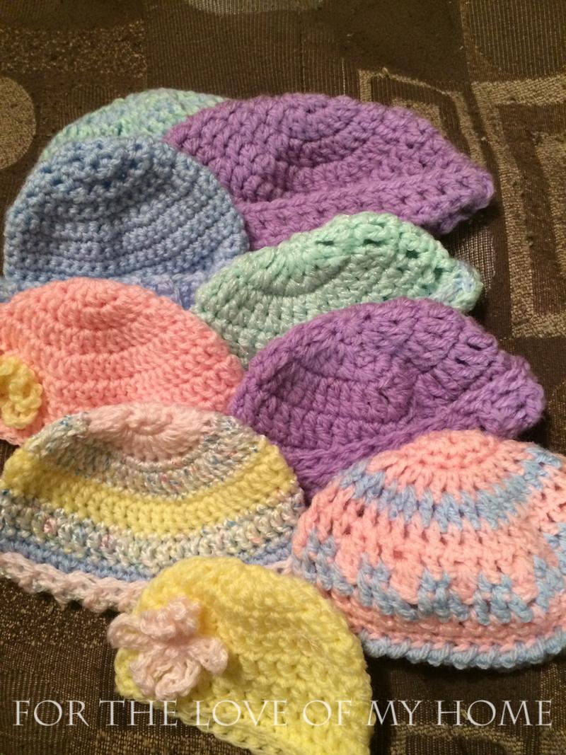 Baby Hats…..